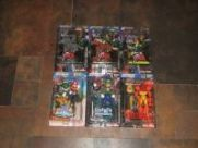 Rare old Nintendo Power action figures