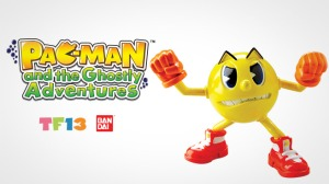 Pac-Man and the Ghostly Adventures figures