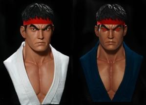Ryu and Evil Ryu