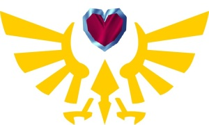 Heart Container Triforce