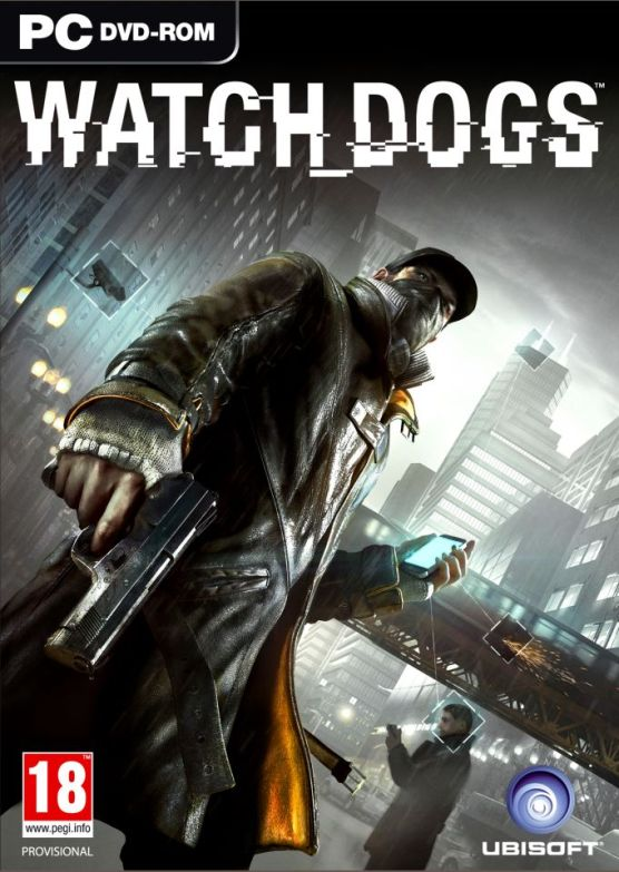 Watch Dogs Boxart