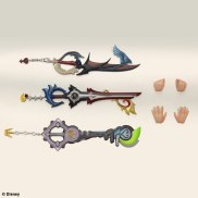 Kingdom Hearts 3D Riku Figure keyblades