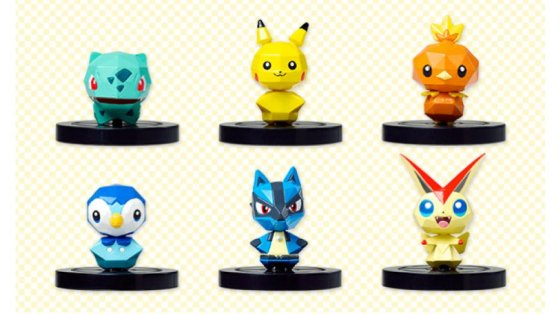 Pokemon Rumble U figures