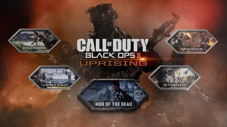 Black Ops II Uprising Maps