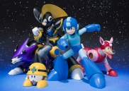 Mega Man and Roll, Bass and Treble D-Arts Figures