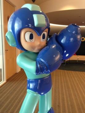 Mega Man Comic Con Statue