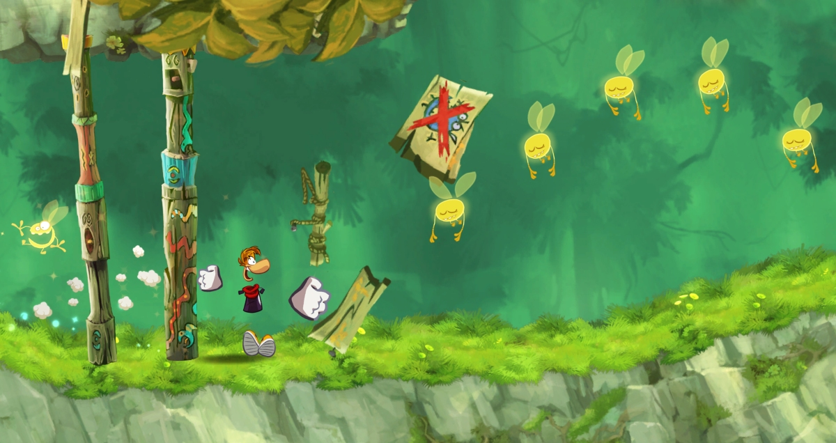 Rayman Jungle Run: 20 Free New Levels