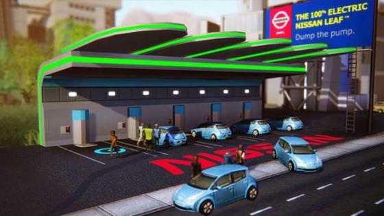 SimCity Nissan