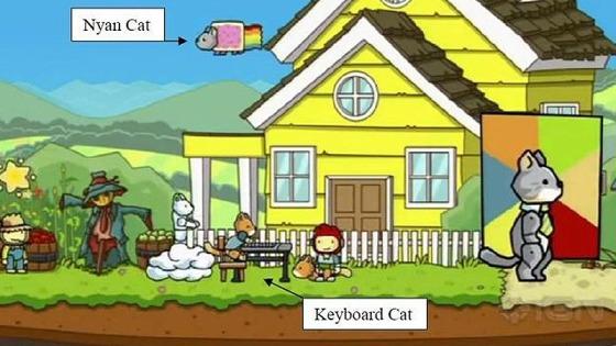 Scribblenauts Nyan Cat