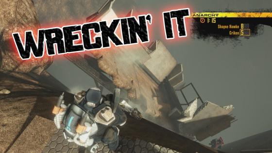 wreckin' it