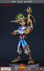 Jak and Daxter statue pre-order