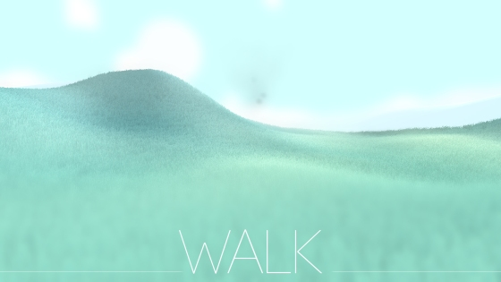 Walk indie game