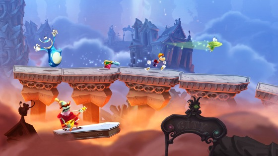 Rayman Legends graphics