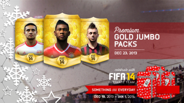 Christmas gold packs
