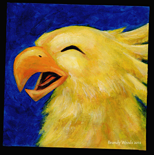 chocobo painting
